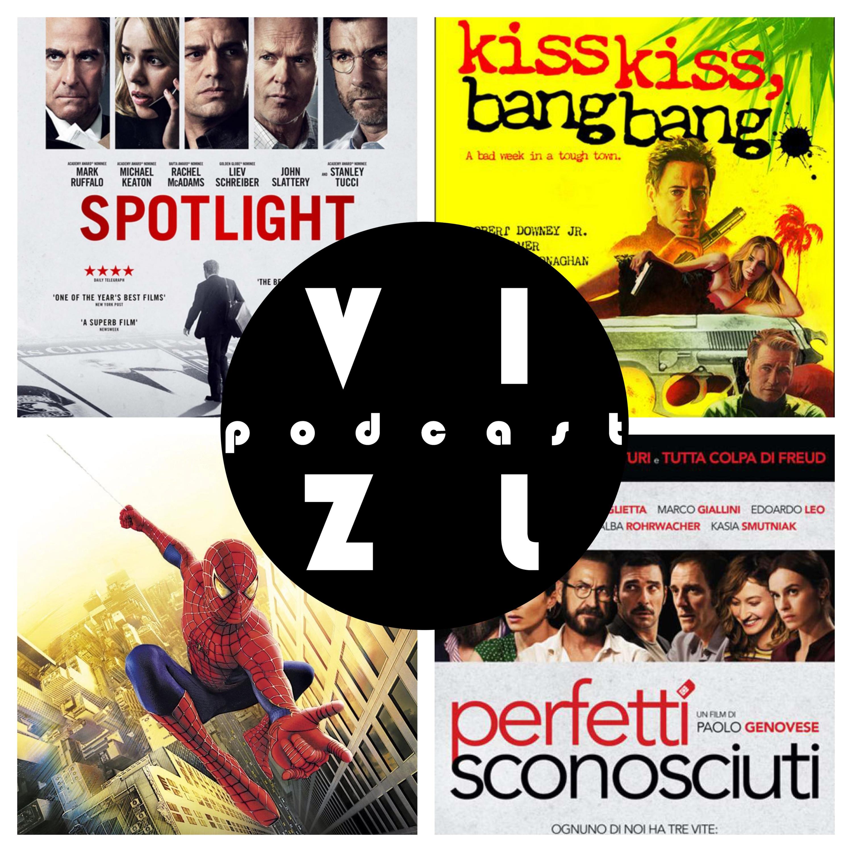 Подкаст №25: Идеальные незнакомцы, Человек-паук, В центре внимания, Поцелуй навылет