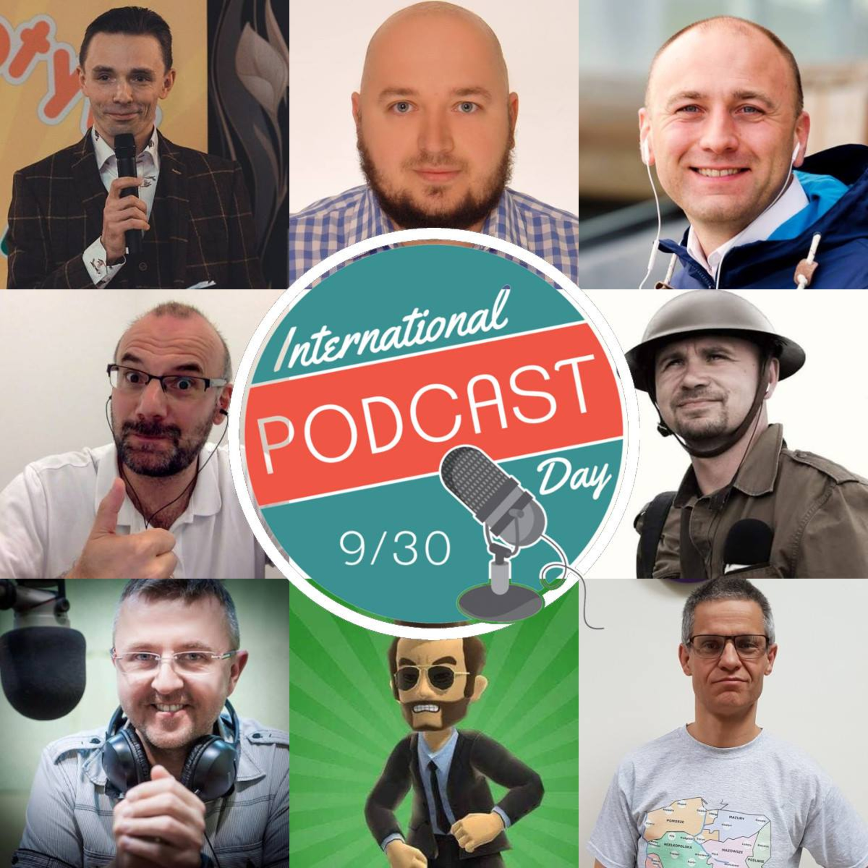 Podcast Profesora Leniucha - Minikonferencja polskich podkasterów na Wyspach.