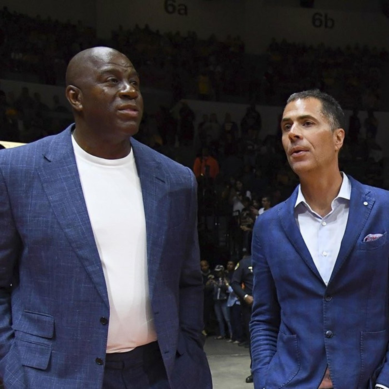 Magic Johnson-Rob Pelinka beef, Future of Lakers, Celtics,76ers Knicks. 2019 NBA draft lottery mock