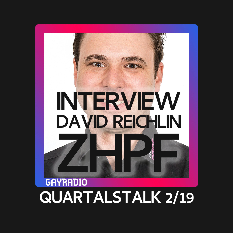 Interview mit David Reichlin, Vizepräsident Zurich Pride Festival | Quartalstalk | GAYRADIO