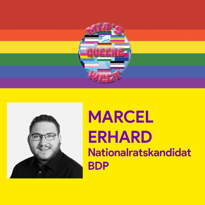 Marcel Erhard, Nationalratskandidat BDP Stadt Bern | Mias queere Welt vom 14.7.2019