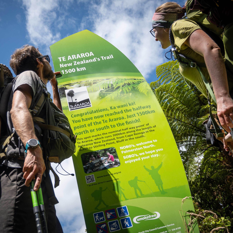 Pěšky napříč Novým Zélandem