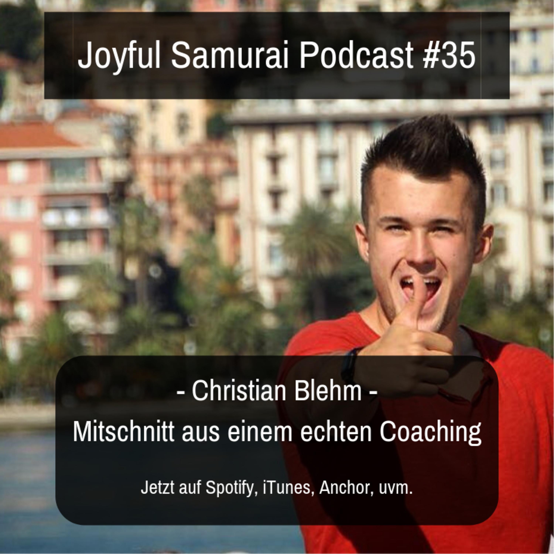JSP#35 Live Coaching Mitschnitt - mit Christian Blehm