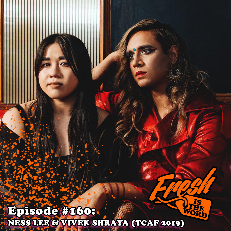 "Episode #160: Ness Lee & Vivek Shraya - ""Death Threat"" Spotlight Panel at Toronto Comic Arts Festival 2019"