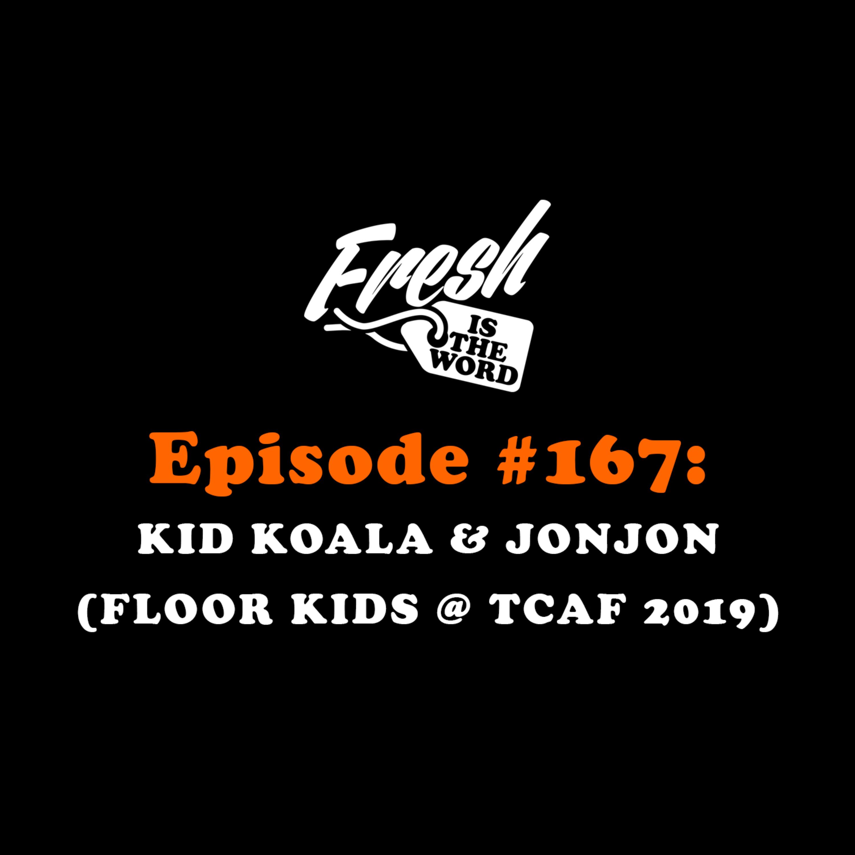 "Episode #167: Kid Koala & JonJon - ""Floor Kids"" Video Game (Recorded at Toronto Comic Arts Festival - TCAF 2019)"
