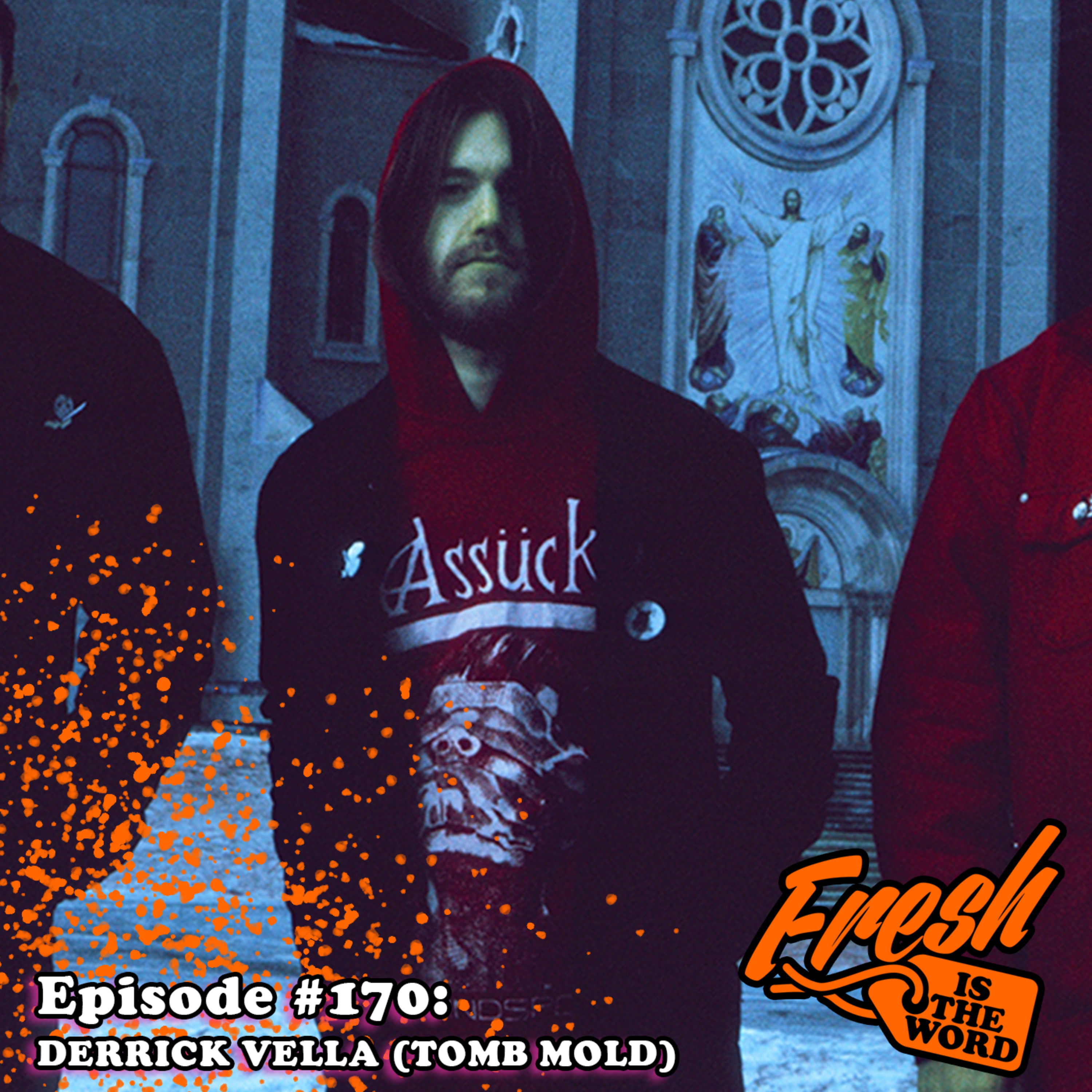 """Episode #170: Derrick Vella - Guitarist of Toronto Death Metal Band 'Tomb Mold', New Album """"Planetary Clairvoyance"""" Out Now Via 20 Buck Spin (Recorded at The Sanctuary in Detroit)"""