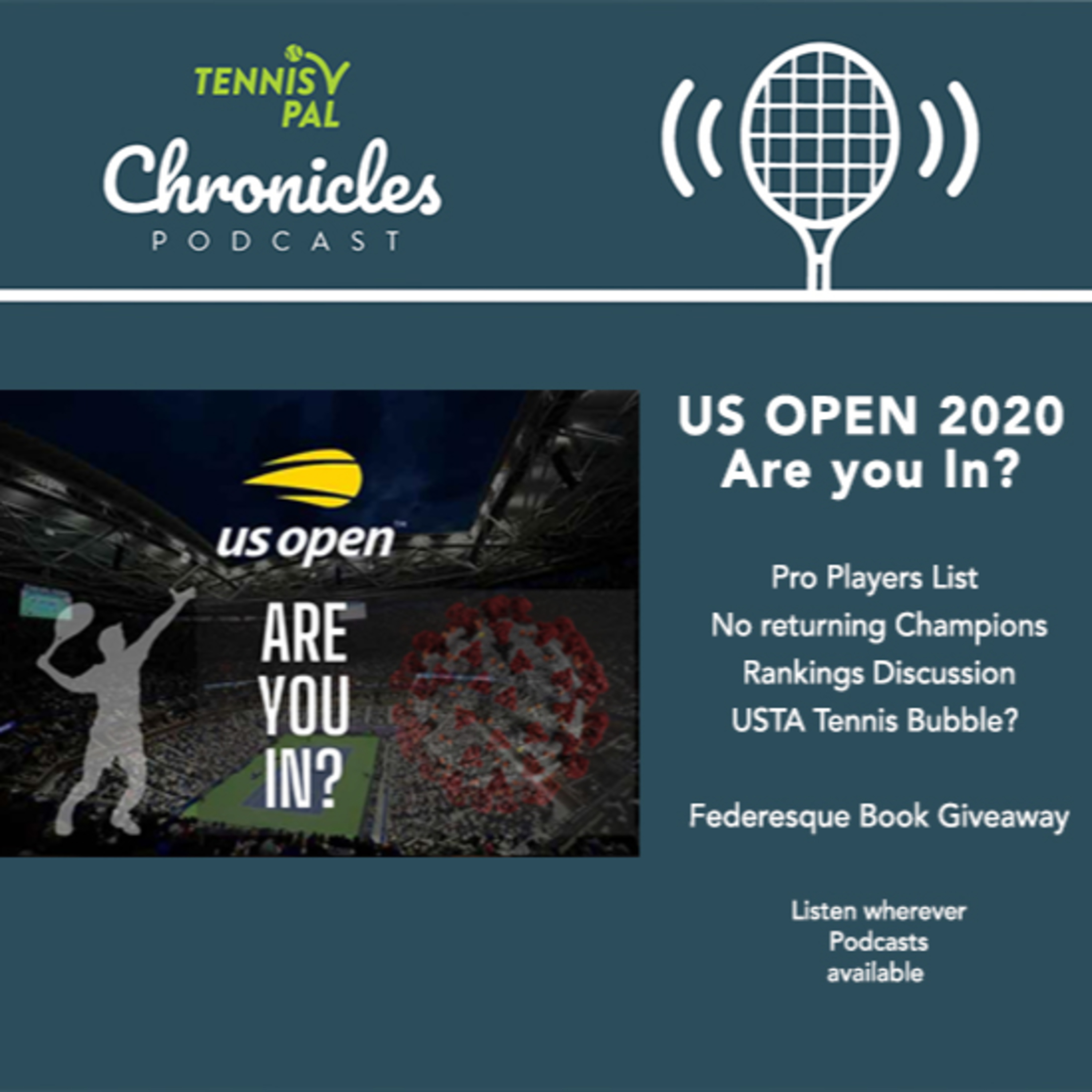 US OPEN 2020 Are you in? Pro Players List Rankings Discussion USTA Tennis Bubble