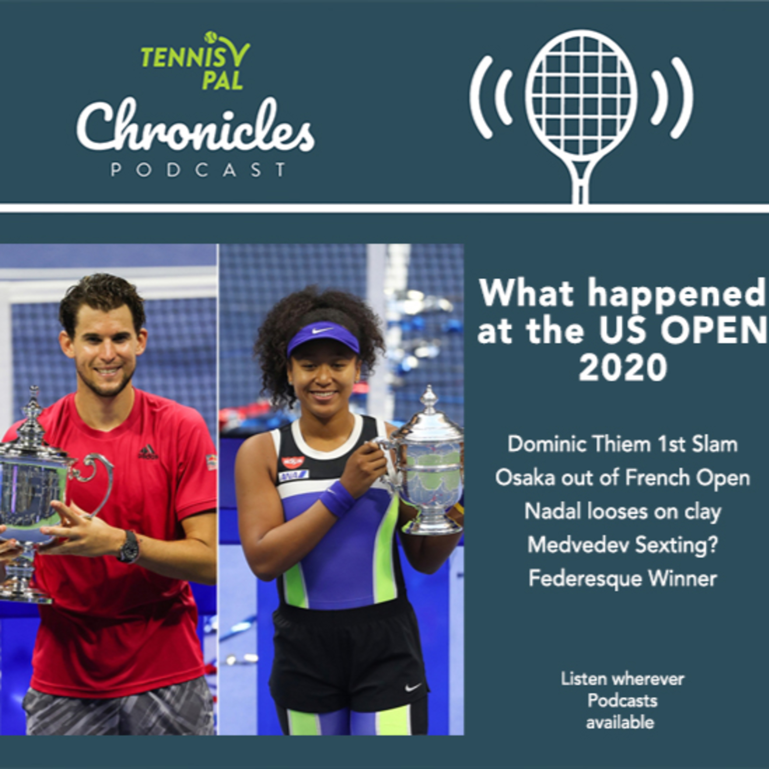 What happened at the US OPEN ?? Osaka is out of French Open Nadal looses on clay Medvedev sexting rumor Federesque Winner