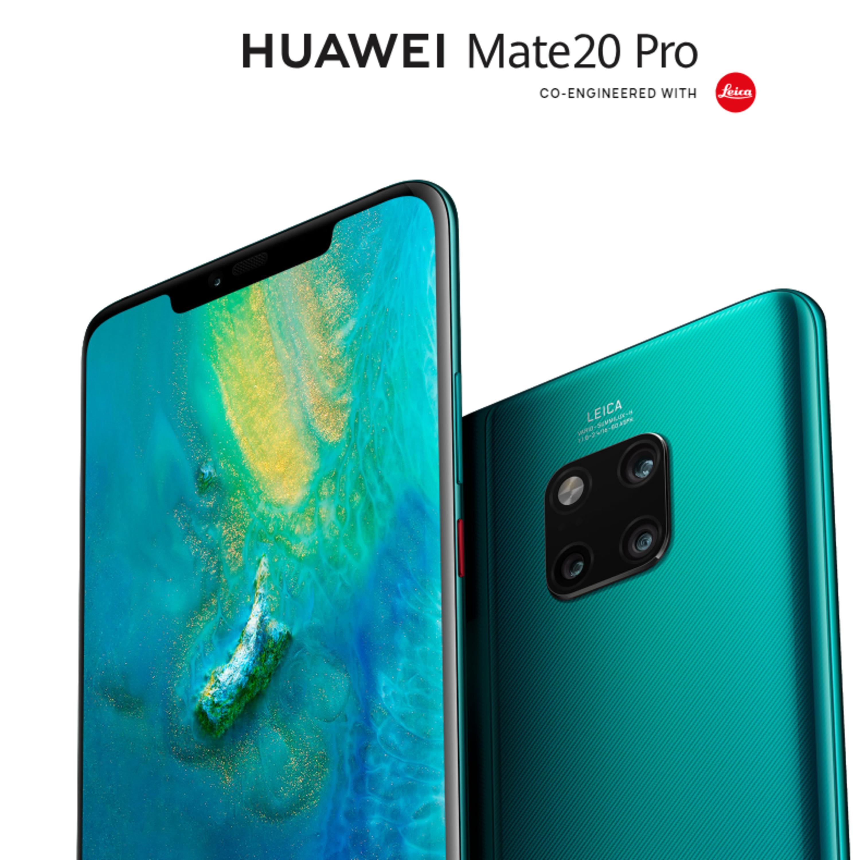 Huawei presento su Mate 20 y Mate 20 Pro