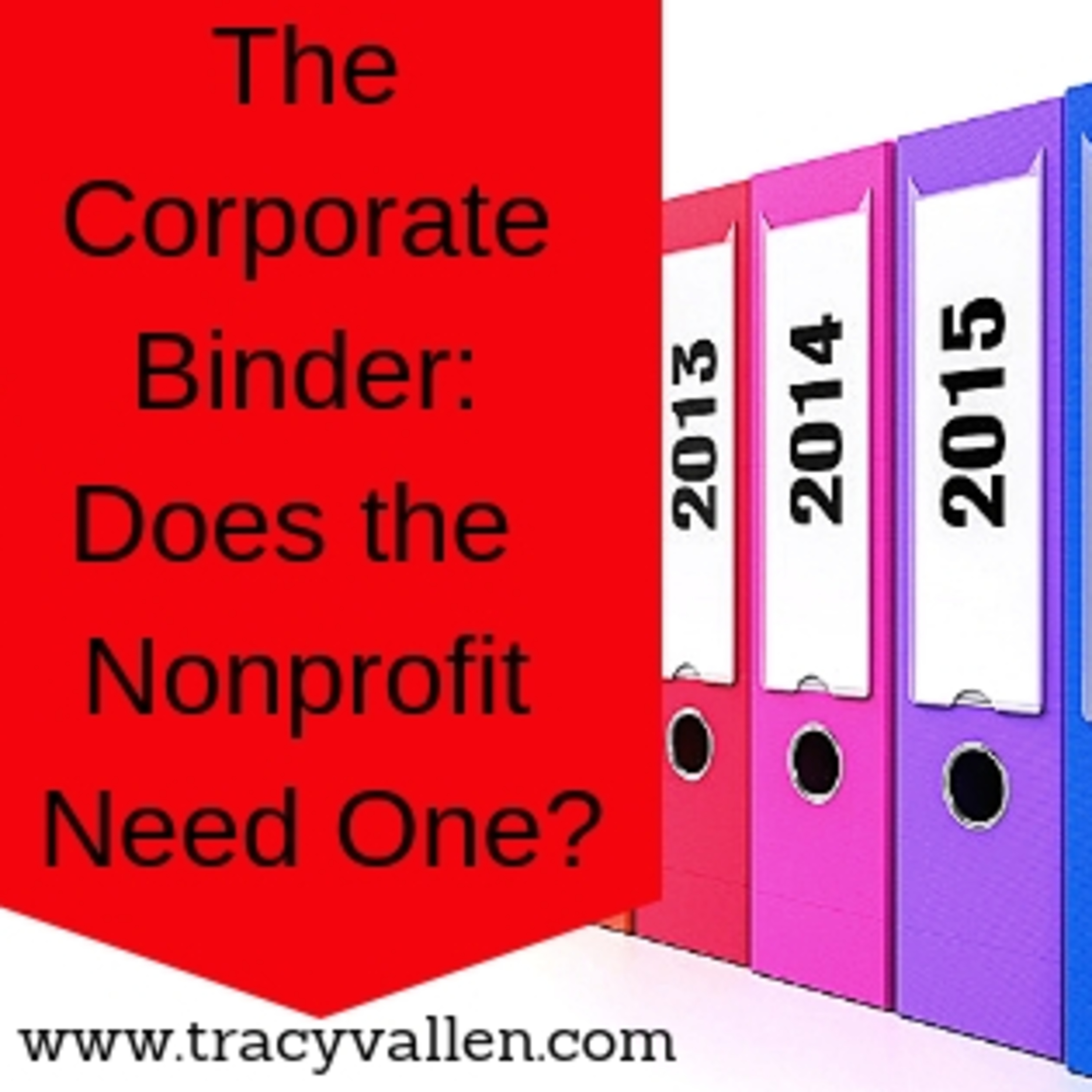 S1E31 - The Corporate Binder: What is it and Does the Nonprofit Need One?