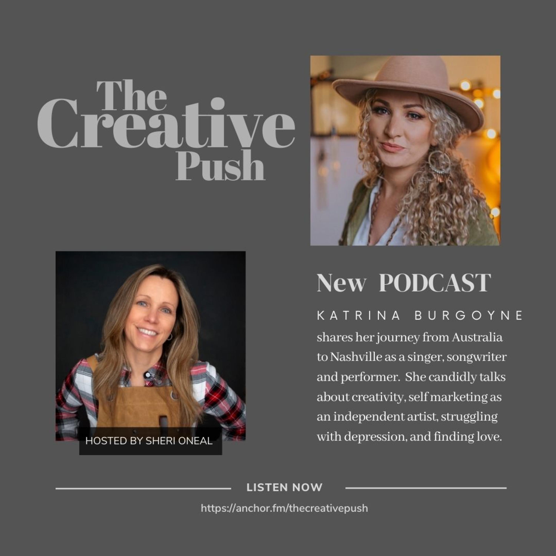 The Creative Push: Katrina Burgoyne