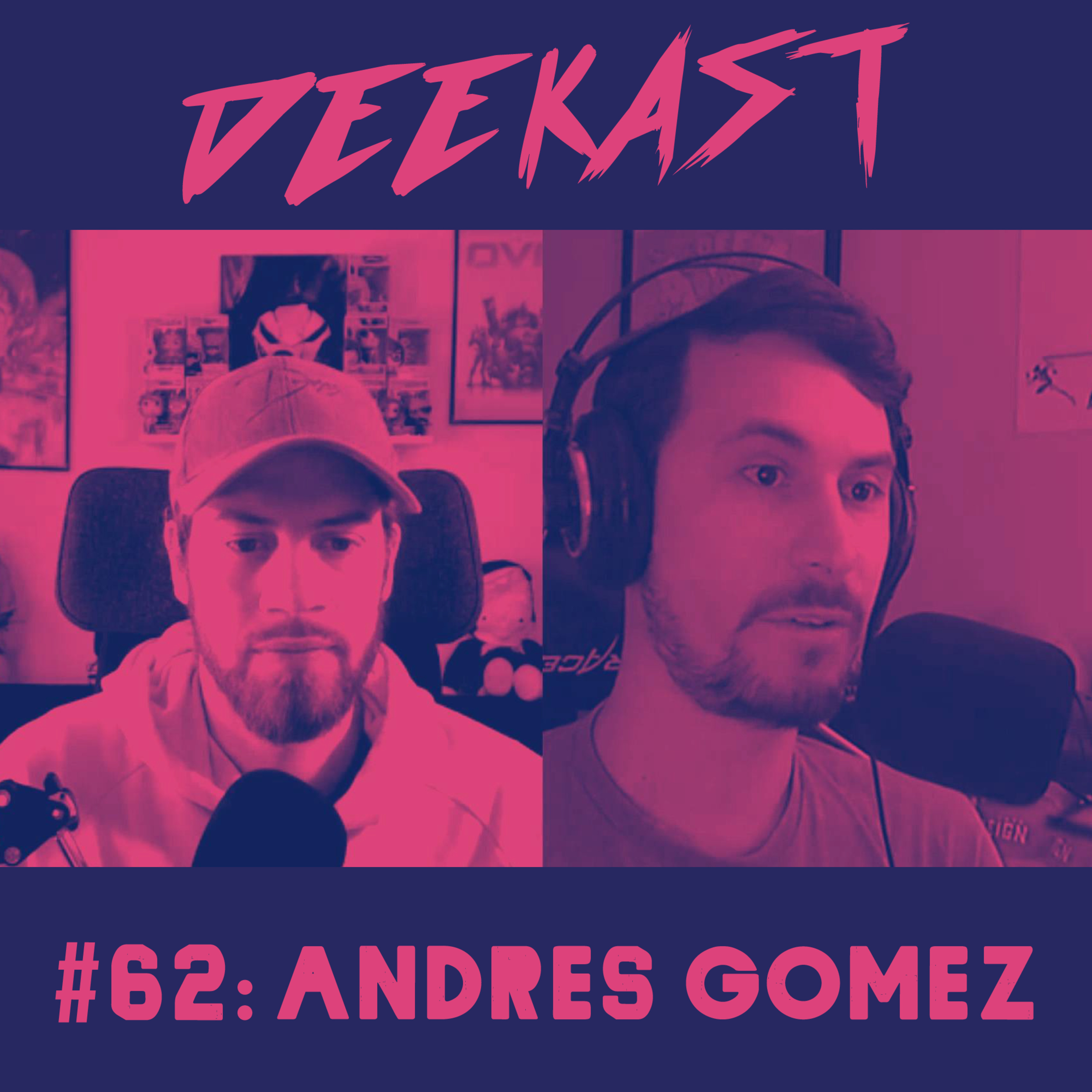 #62. Andres Gomez of the Omnic Lab Podcast