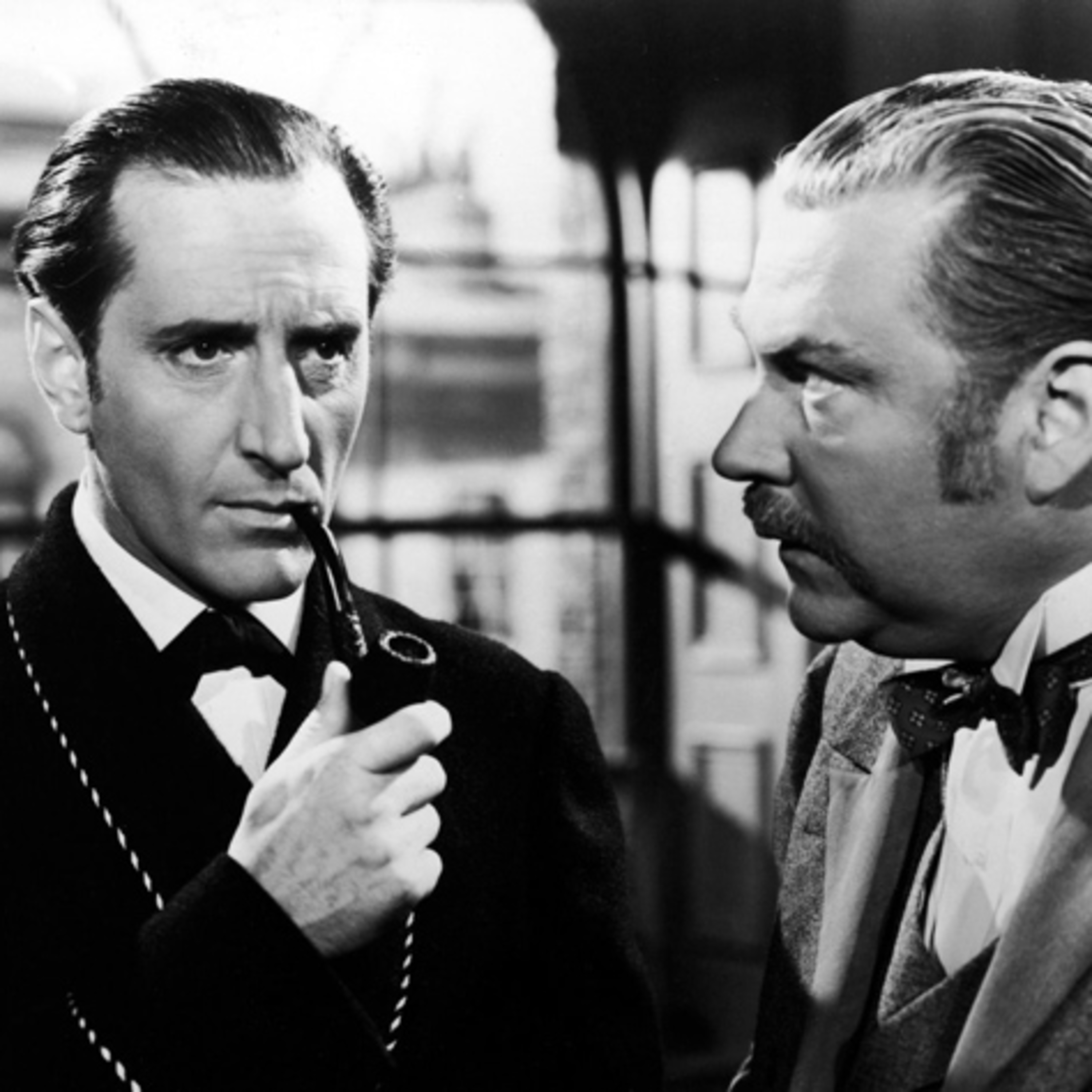 The New Adventures of Sherlock Holmes - Starring Basil Rathbone & Nigel Bruce - Haunting of Sherlock Holmes - Singular Affair of the Baconian Cipher