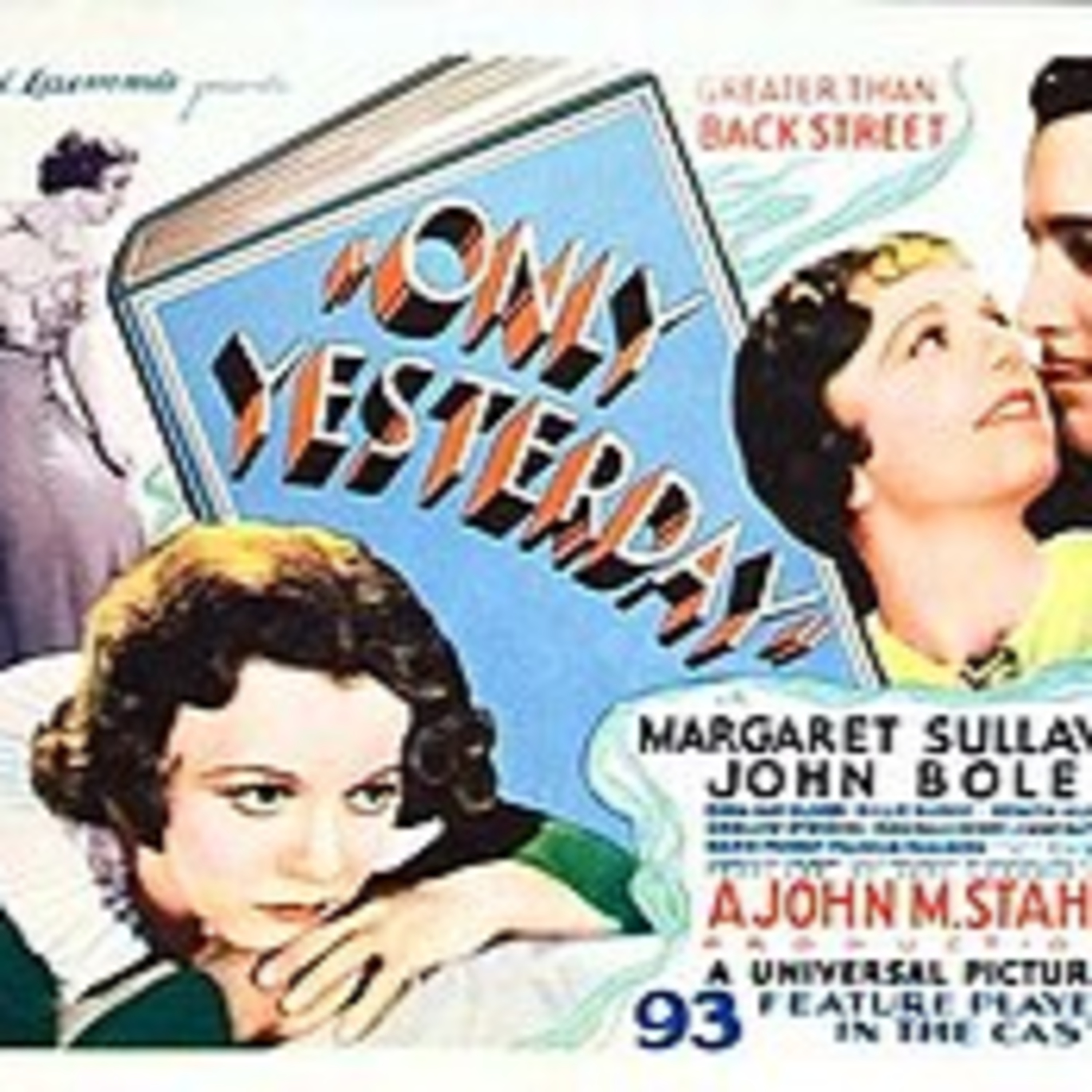 Only Yesterday - Barbara Stanwyck & George Brent - All-Star Radio Dramas of Classic Films - Lux Radio Theater