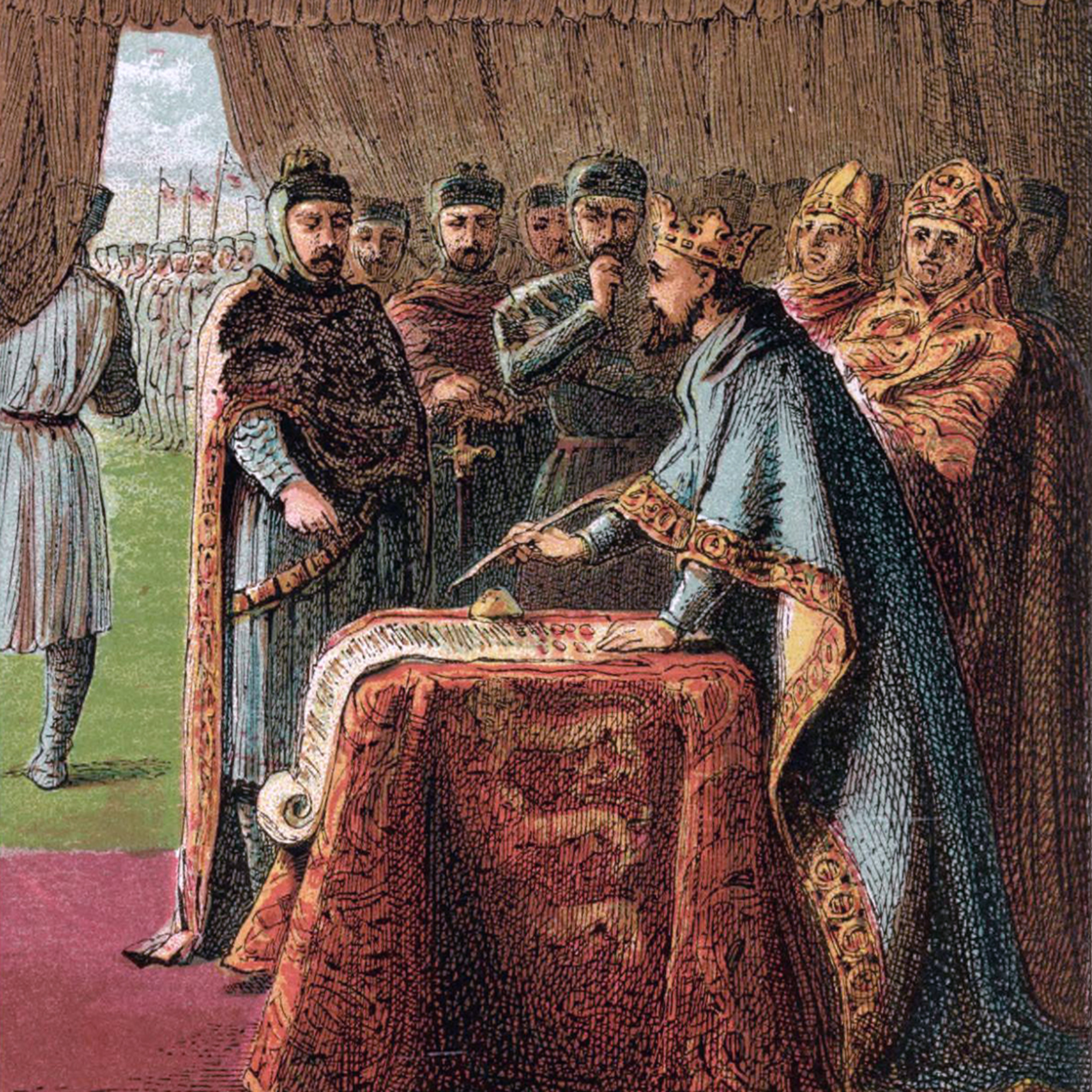 Time Travel History Podcast - Signing of the Magna Carta - Historical Dramas Presented as Live Radio Reports - You Are There