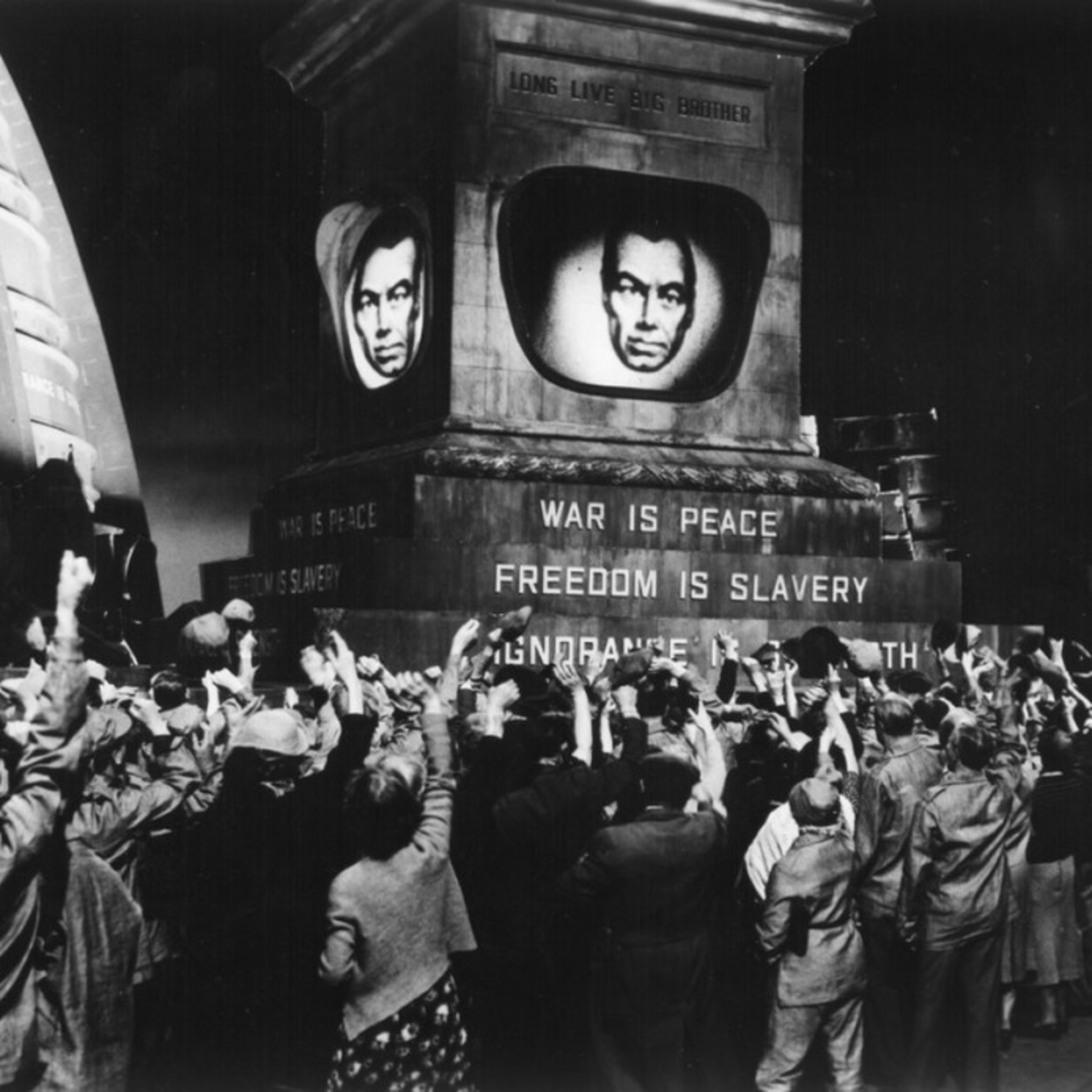 1984 - George Orwell's Dystopian Novel - Big Brother - Omnipresent Government Surveillance - Vincent Price - All-Star Radio Dramas of Classic Films - Lux Radio Theater
