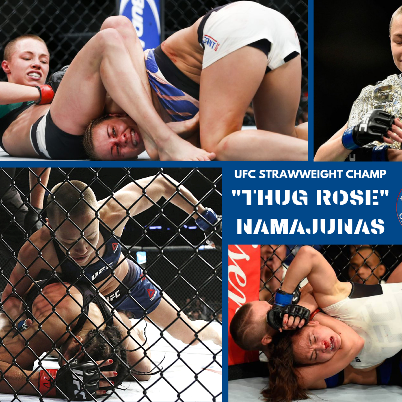 "UFC CHAMP ""THUG ROSE"" NAMAJUNAS FROM UFC 237 IN BRAZIL"