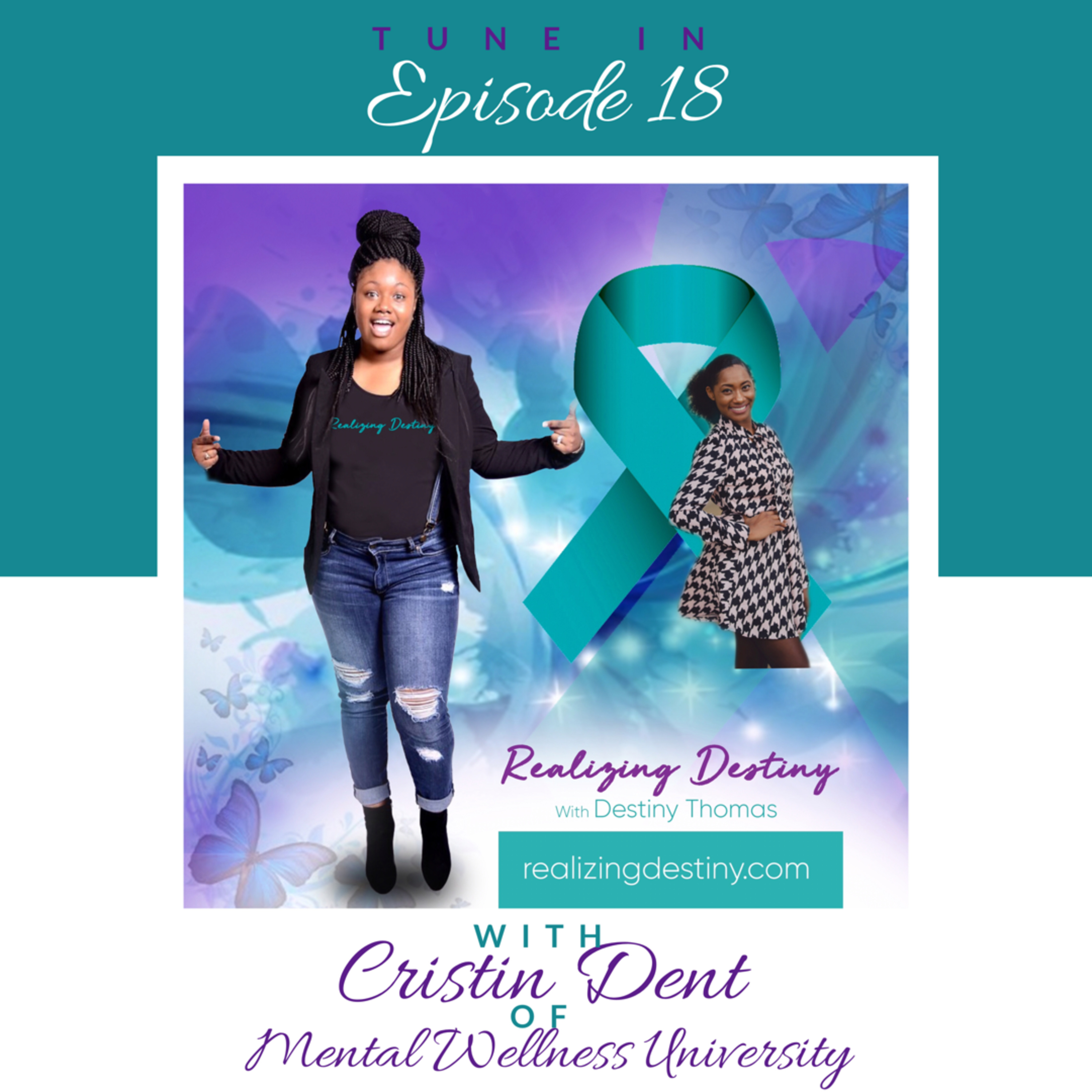 For God has not given us a spirit of fear, but.... of a sound mind Mental Health w/ God (Special Guest Cristin Dent)
