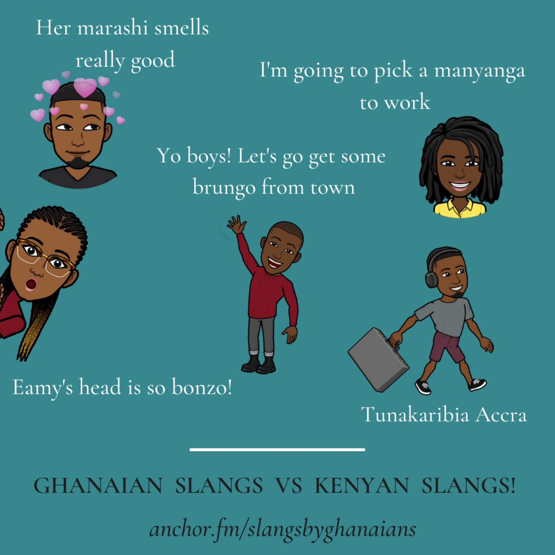 Slangs By Ghanaians on Jamit