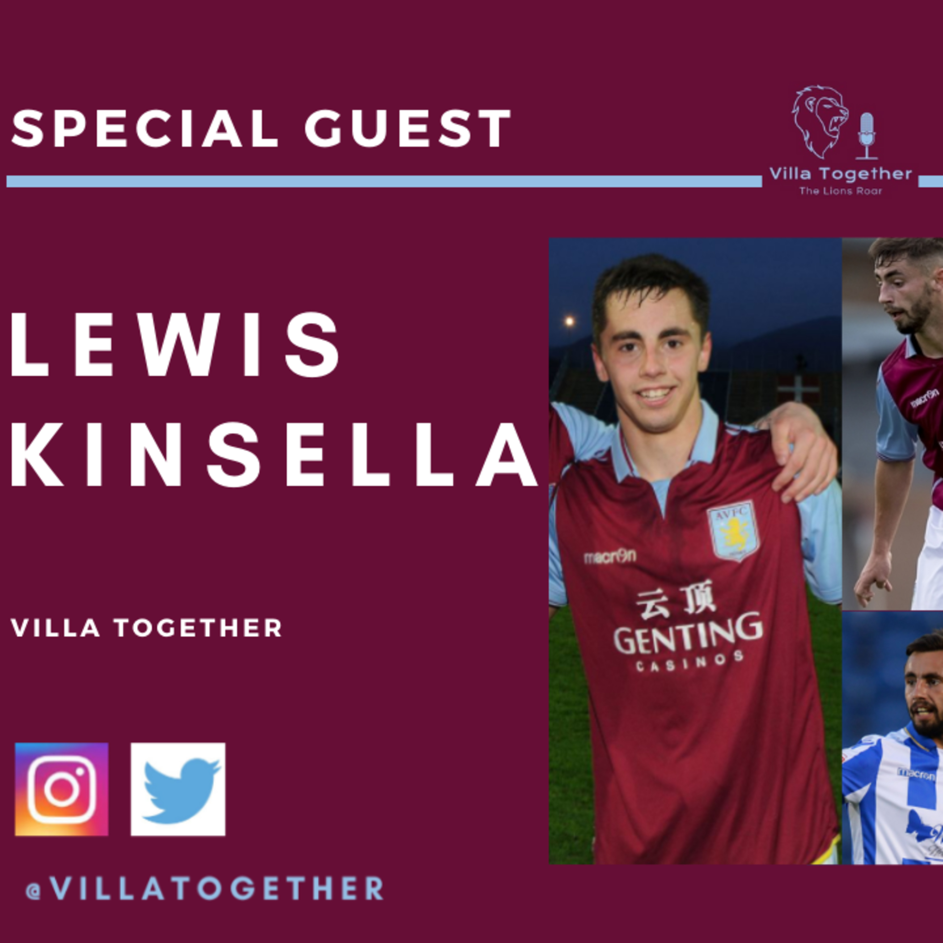 Villa Together Podcast - Lewis Kinsella