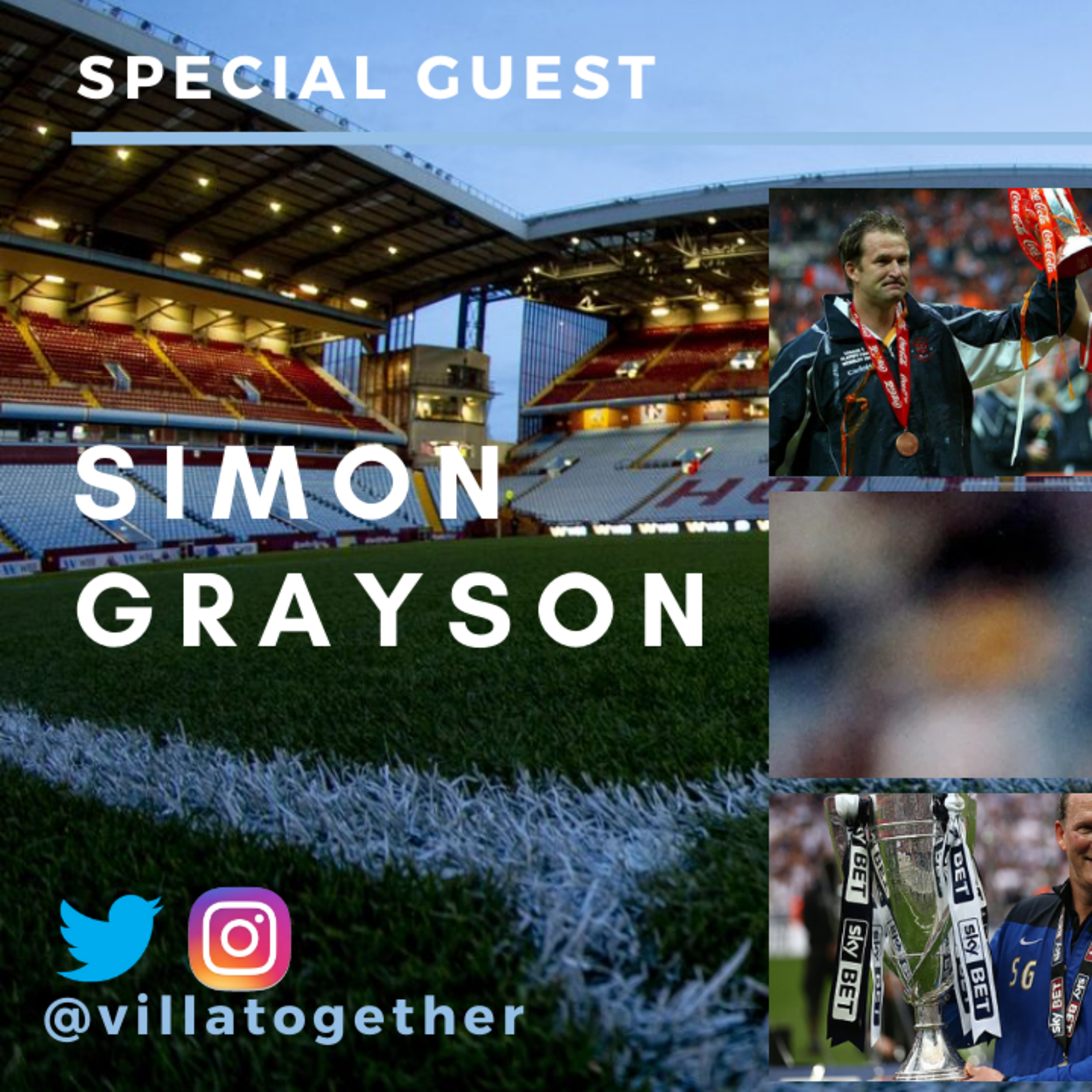 Villa Together Podcast - Simon Grayson