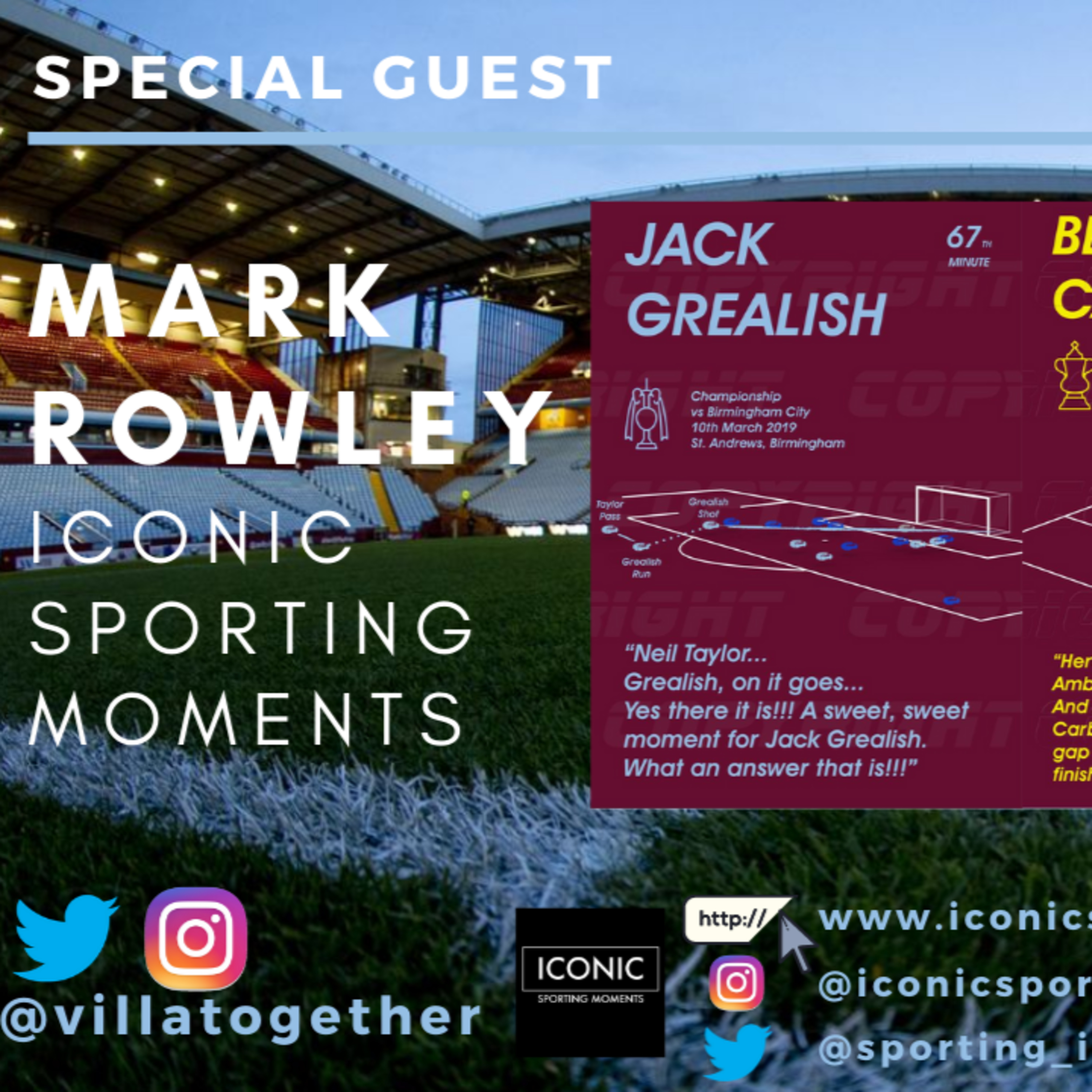 Villa Together Podcast - Mark Rowley Iconic Sporting Moments