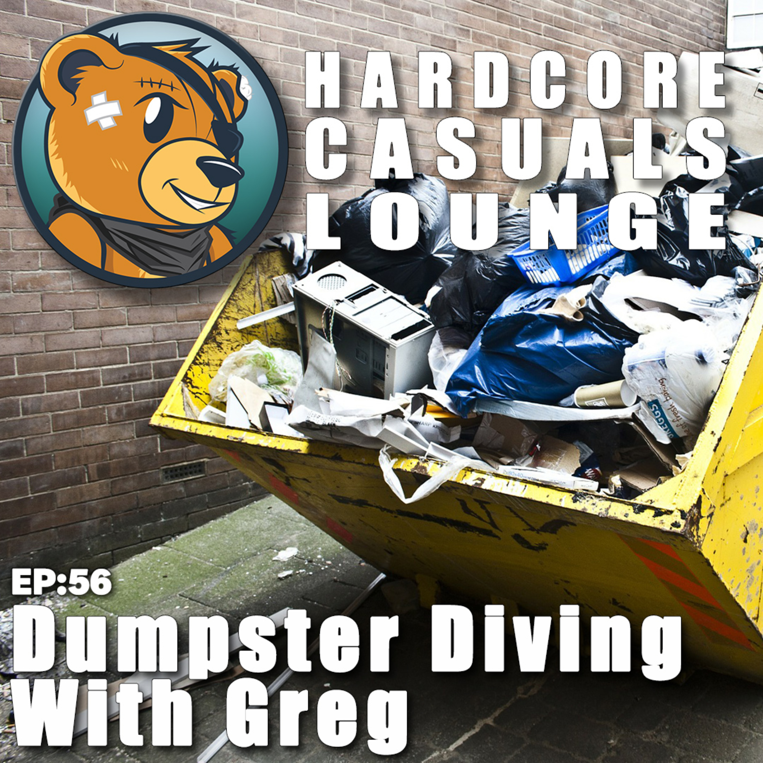HCC Lounge EP56: Dumpster Diving With Greg