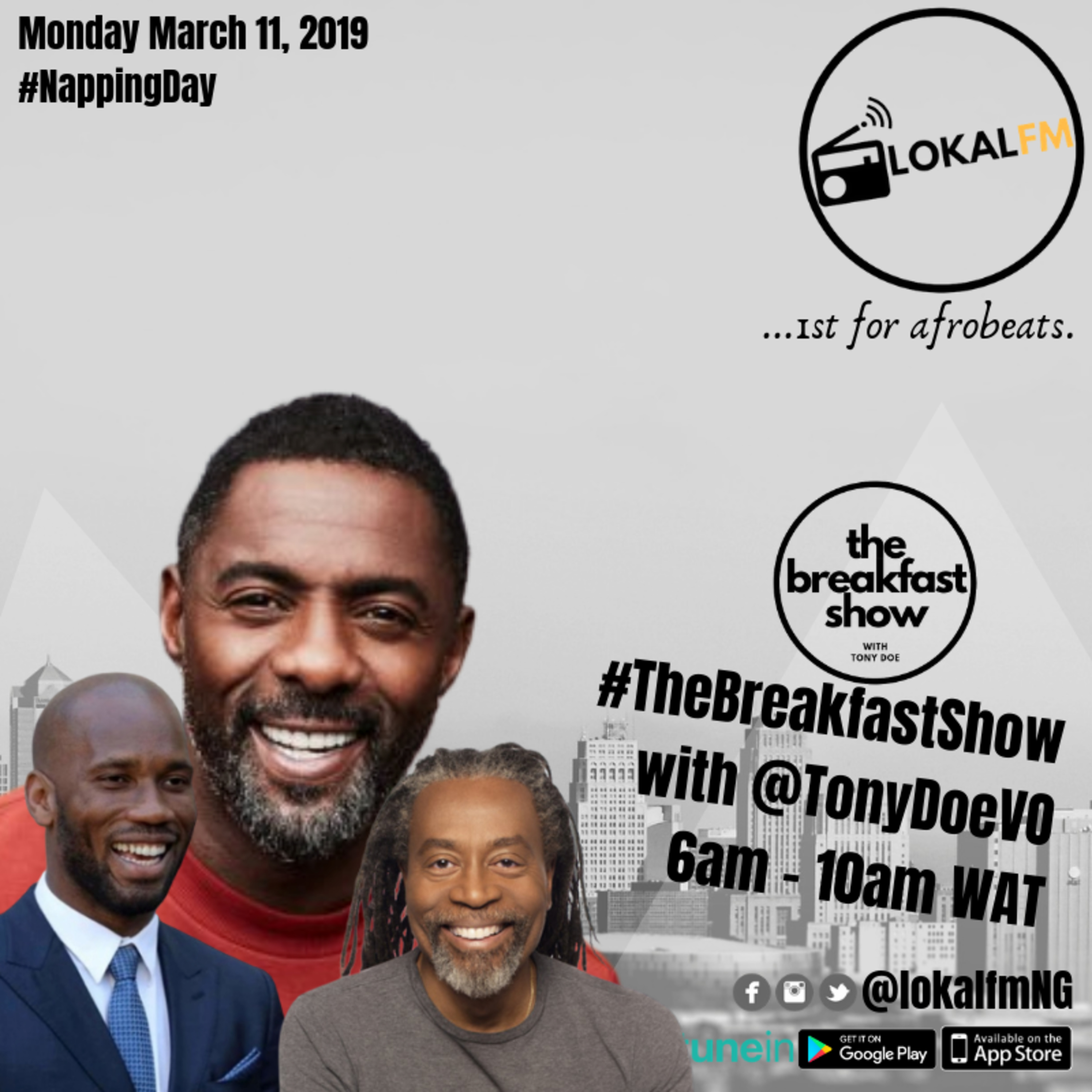 #Monday [11-03-19] - THE BREAKFAST SHOW WITH TONY DOE HIGHLIGHTS
