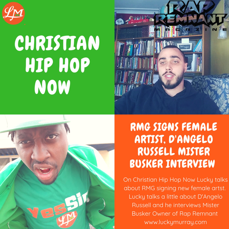 RMG Signs Female Artist, D'angelo Russell, Mister Busker Interview