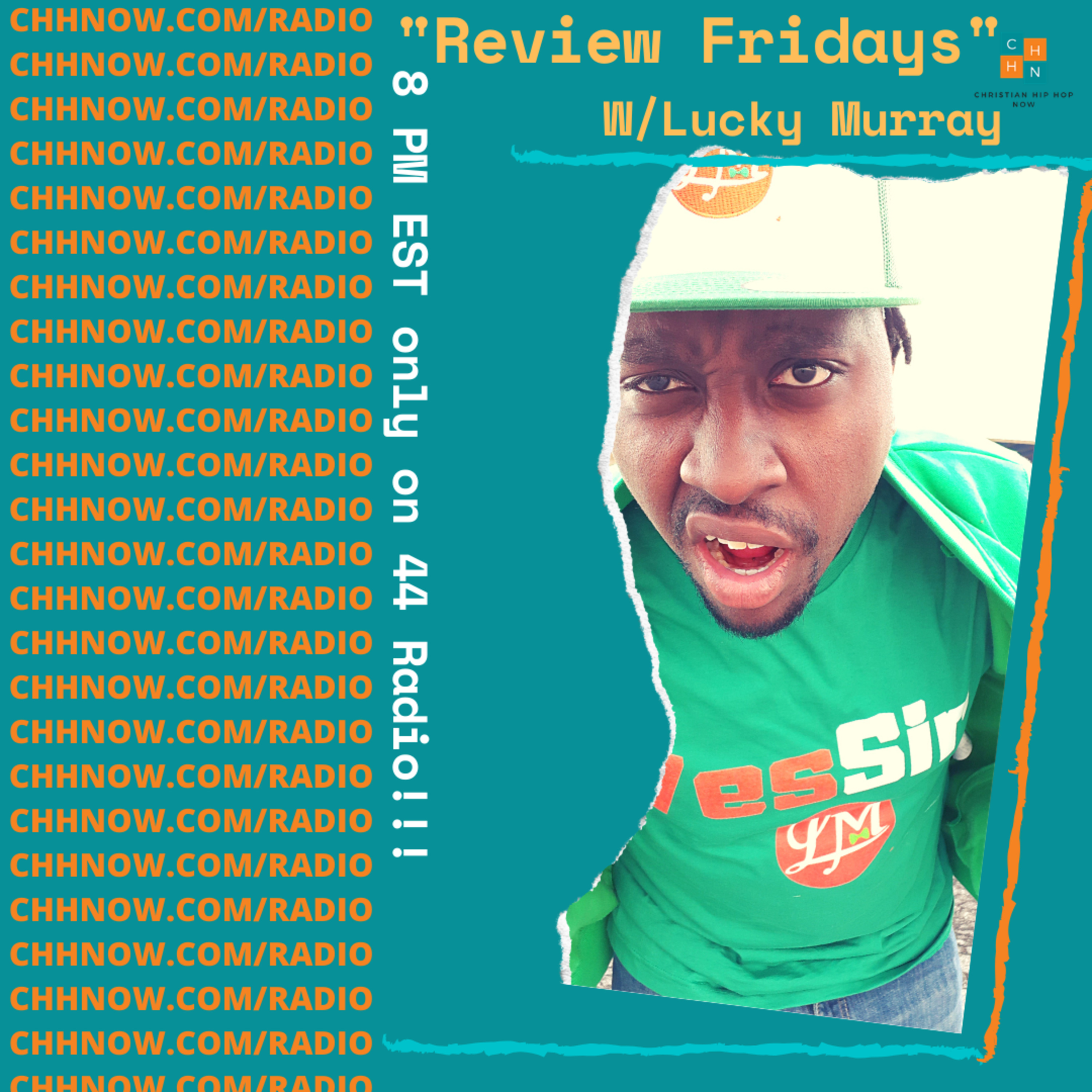 Review Friday's New Christian Hip Hop on 44 Radio 8-21-20