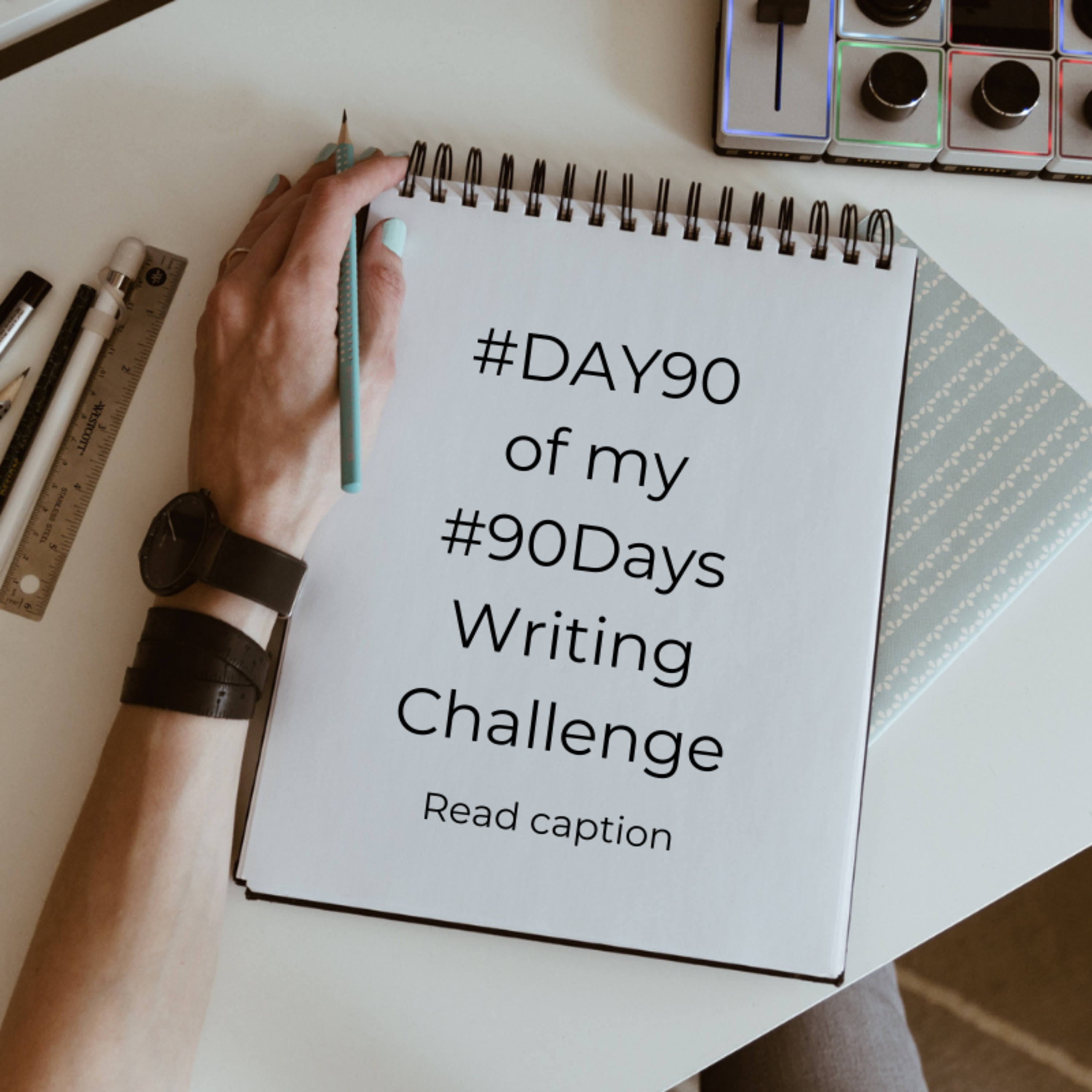 Sharing 90 Days Writing Challenge Journey #E018