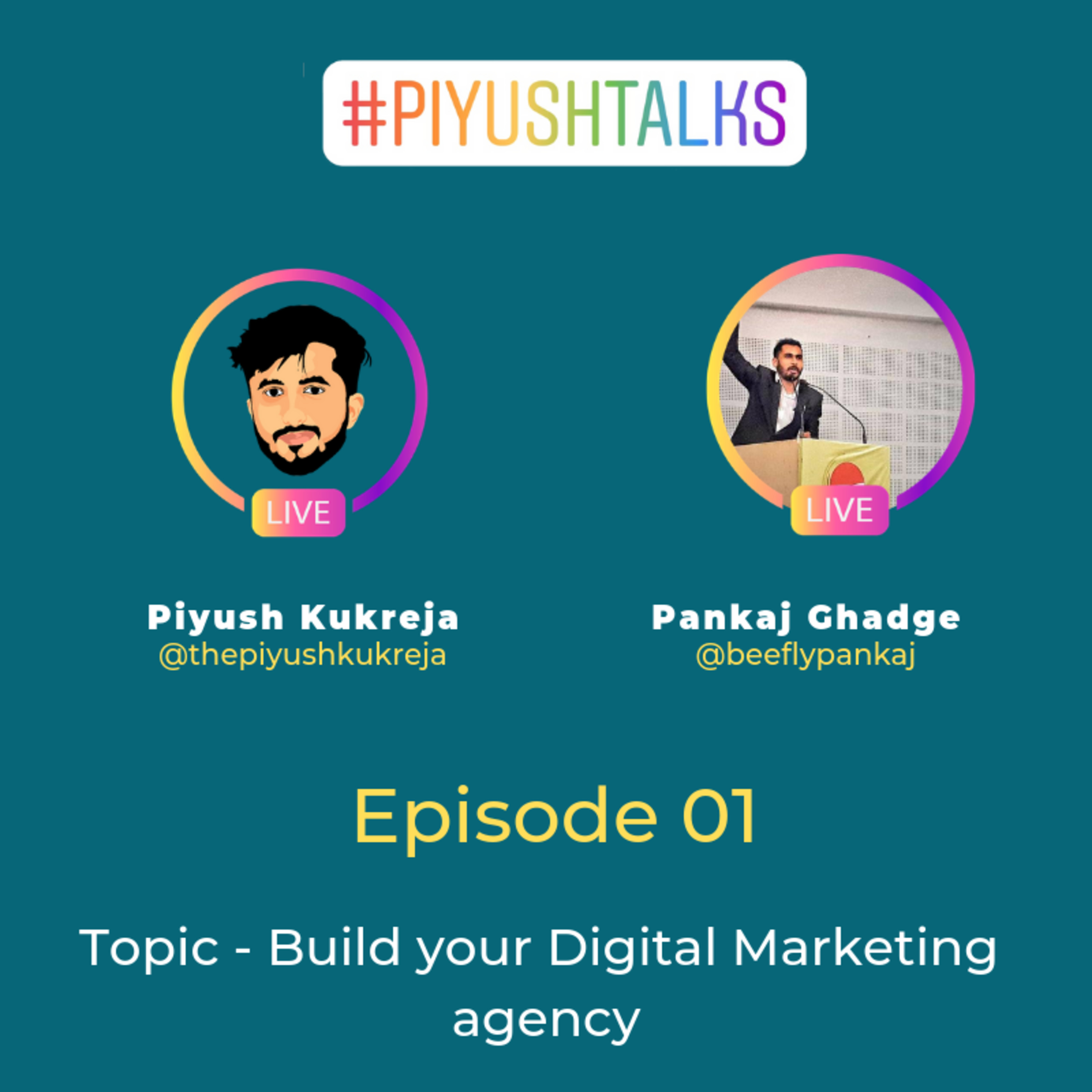 Build Your Digital Marketing Agency ft.Beefly Pankaj Piyush Talks E01 #E023