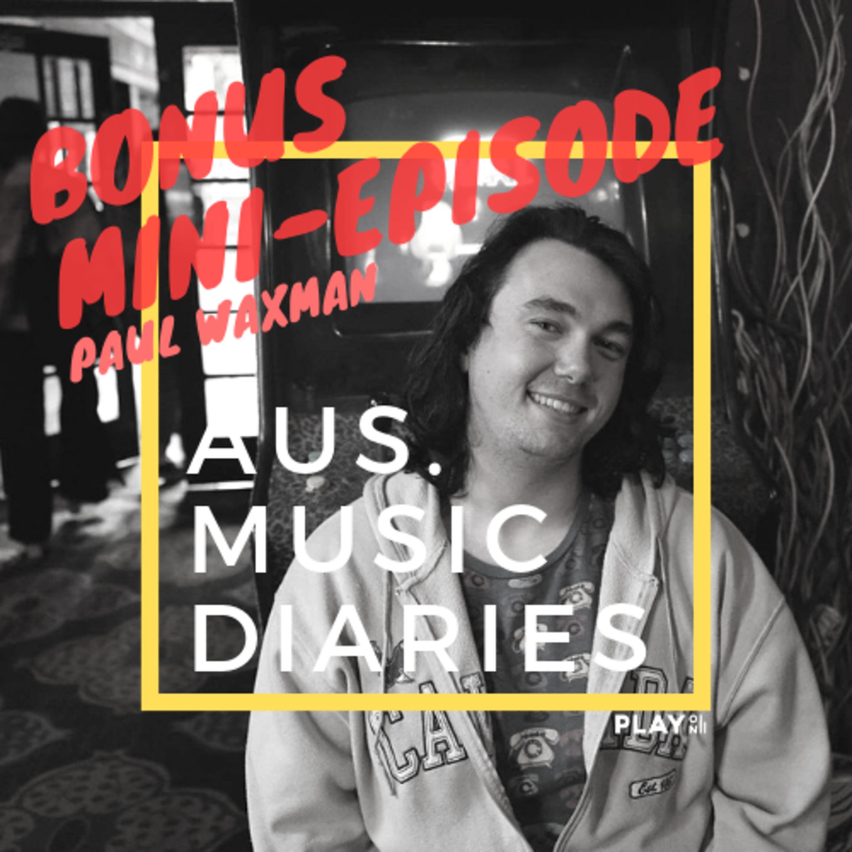Bonus Guest Episode: Paul Waxman chats bare about Tamara & The Dreams