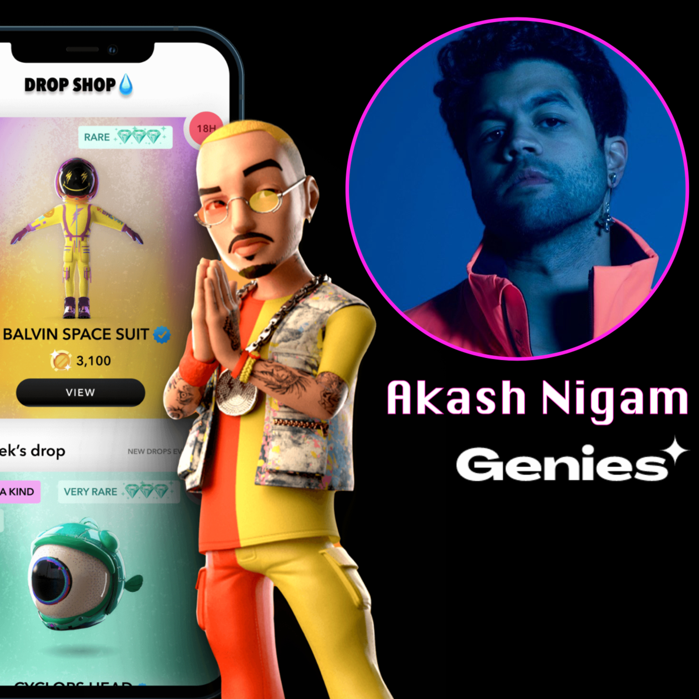 Genies: Your Avatar For The Neuralink Matrix w/ Akash Nigam