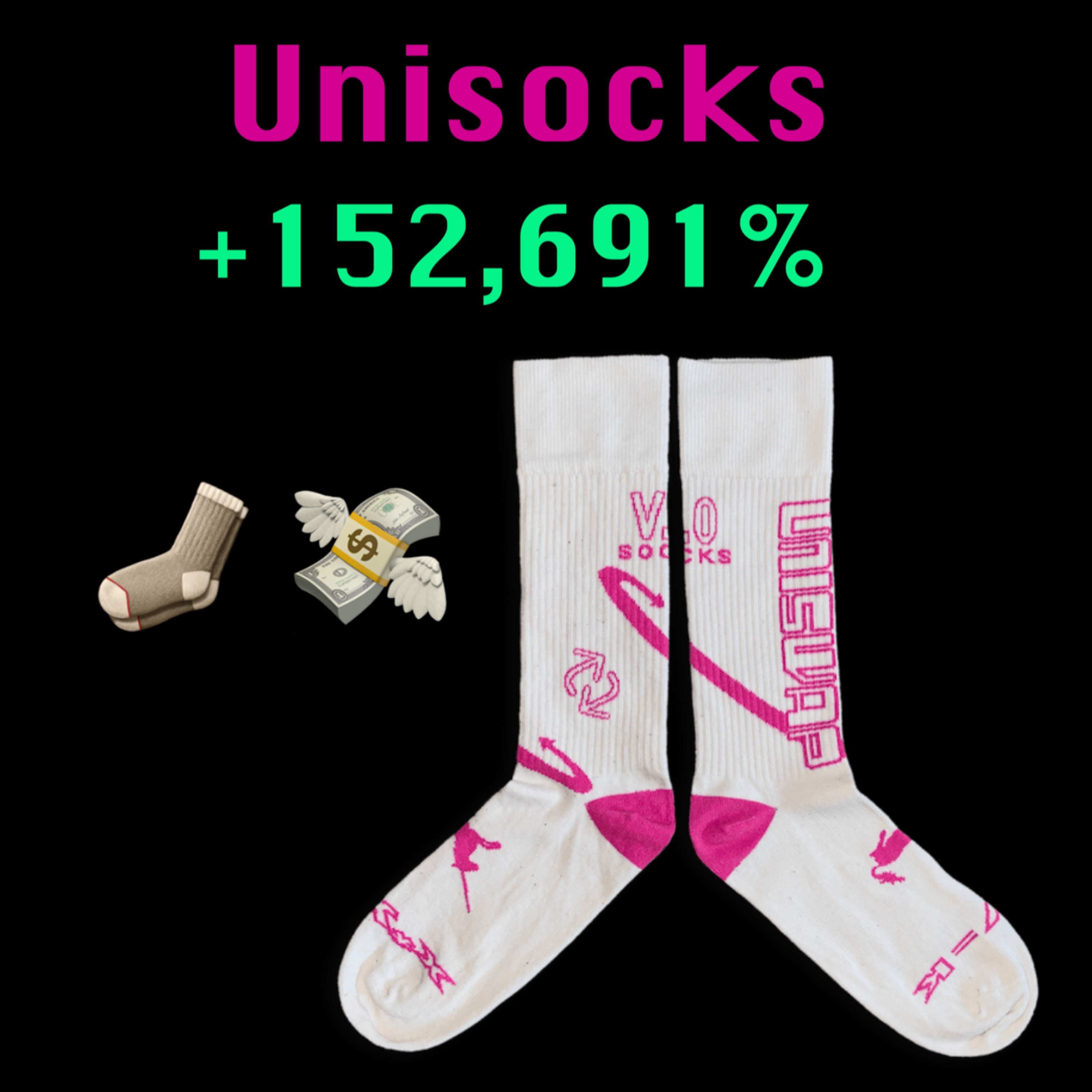 Unisocks: $60 to $91,777, My Best Investment Ever 🧦💸