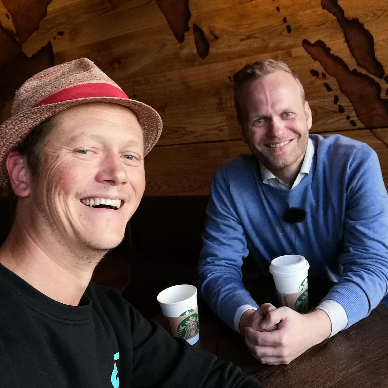 En kaffe med Jøran Gamman - om å senke terskelen for å publisere innhold