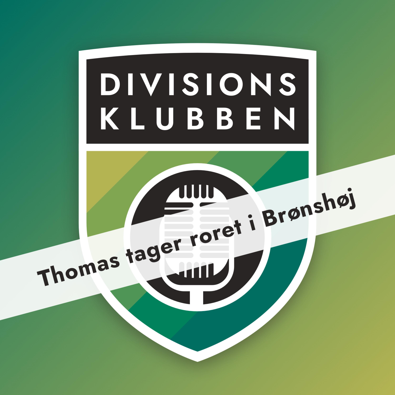 Interview med Thomas som ny cheftræner i Brønshøj
