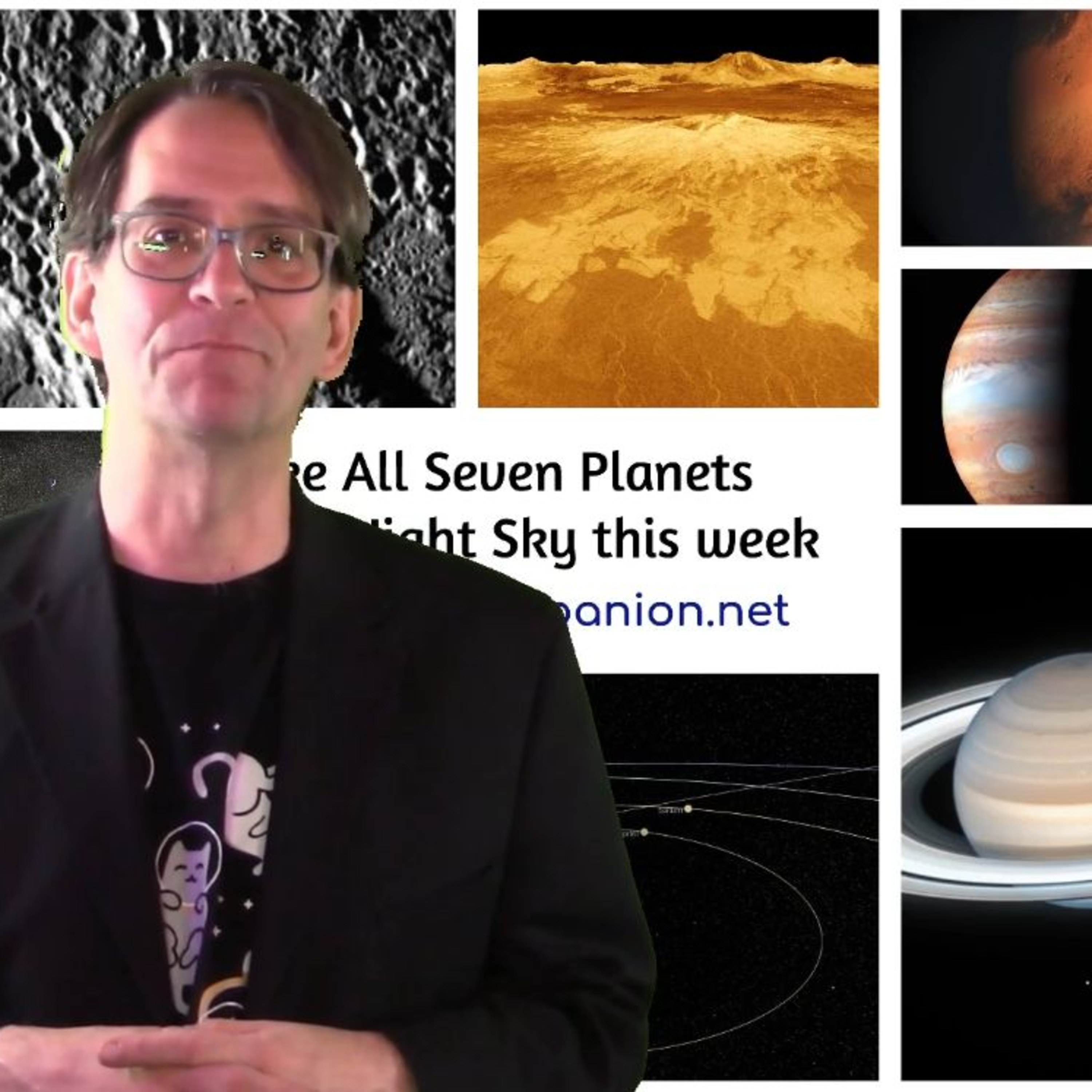 See All Seven Planets in the Night Sky This Week! - The Cosmic Companion Week of Nov. 9, 2020