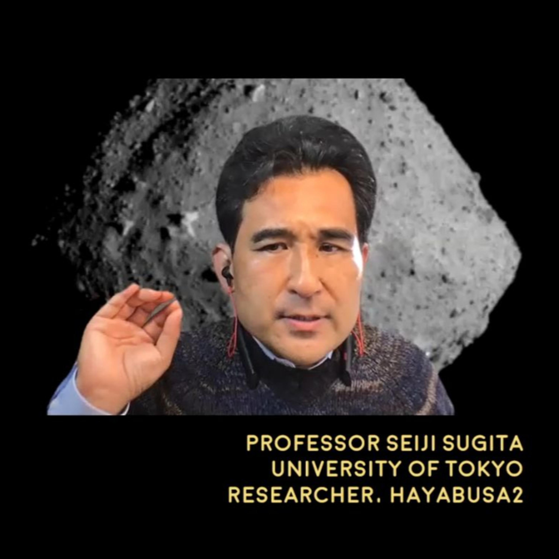 Hayabusa2 and Ryugu asteroid sample Seiji Sugita, Unv. of Tokyo - Astronomy News with The Cosmic Companion Dec. 15, 2020