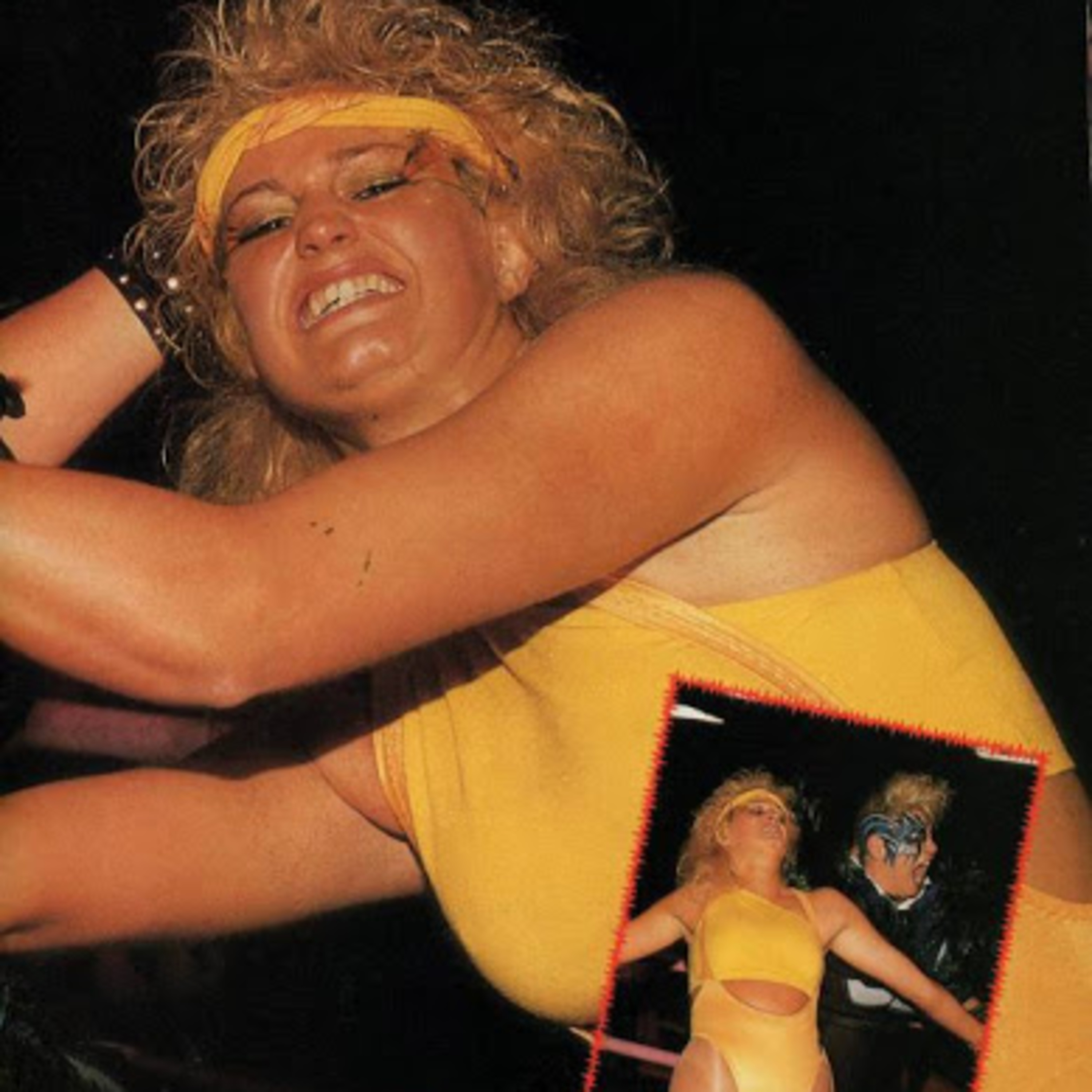 Sunny the California Girl of G.L.O.W. Gorgeous Ladies of Wrestling