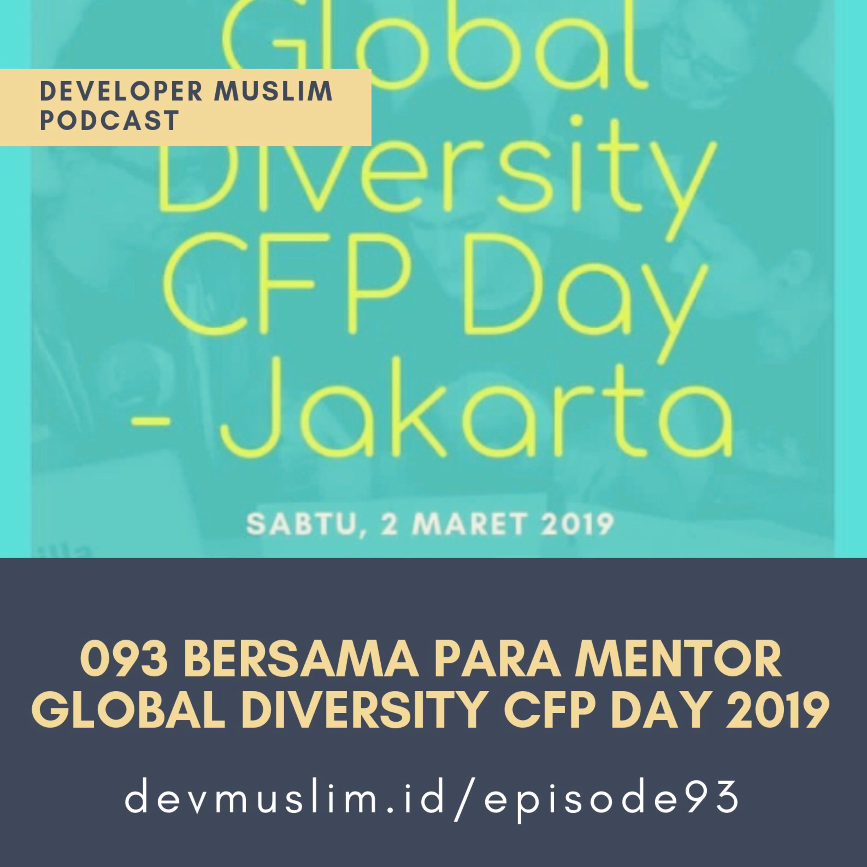 093 Bersama Para Mentor Global Diversity CFP Day 2019