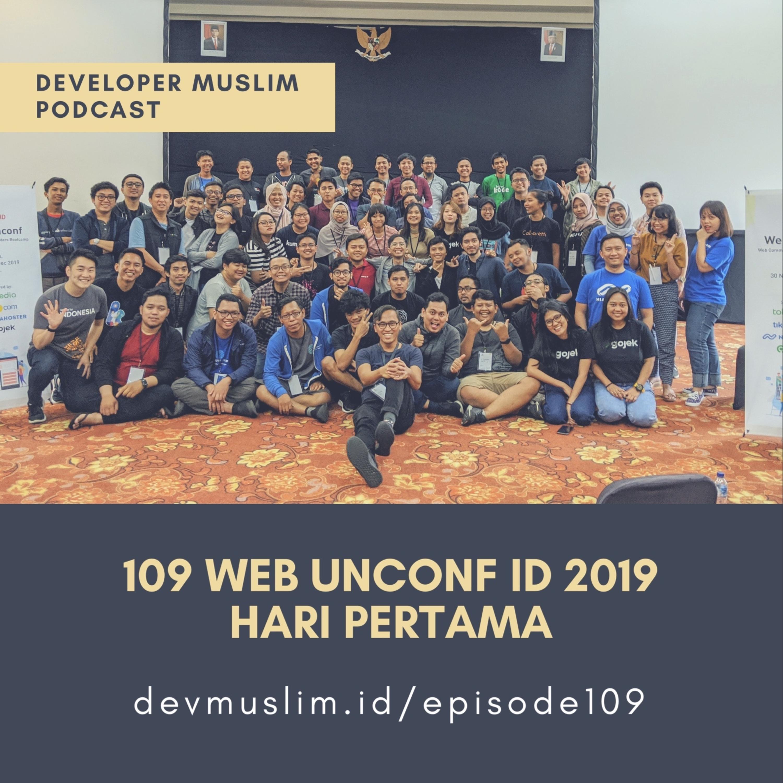 109 Web Unconf ID 2019 Hari Pertama