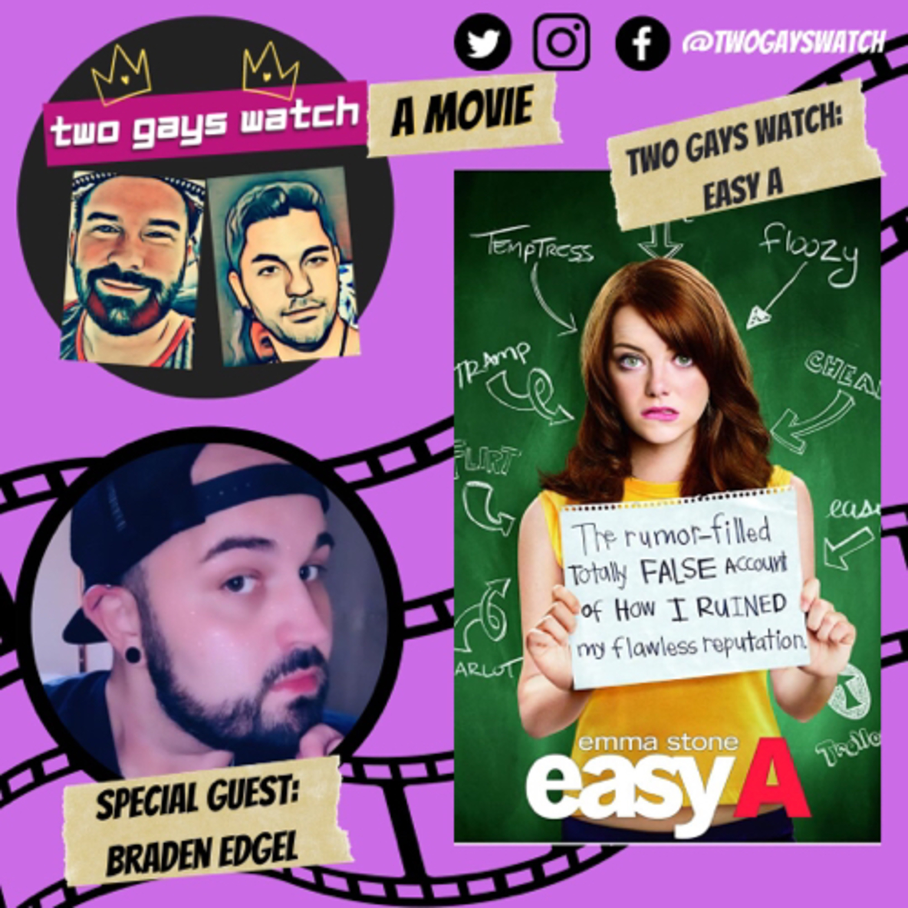 33. Two Gays Watch: Easy A