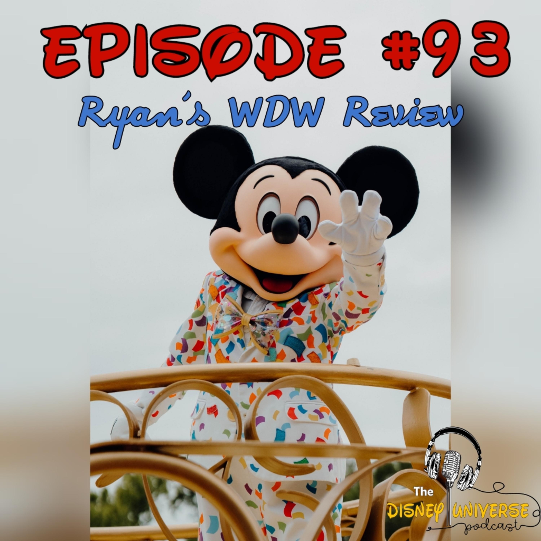 Ryan's WDW Review
