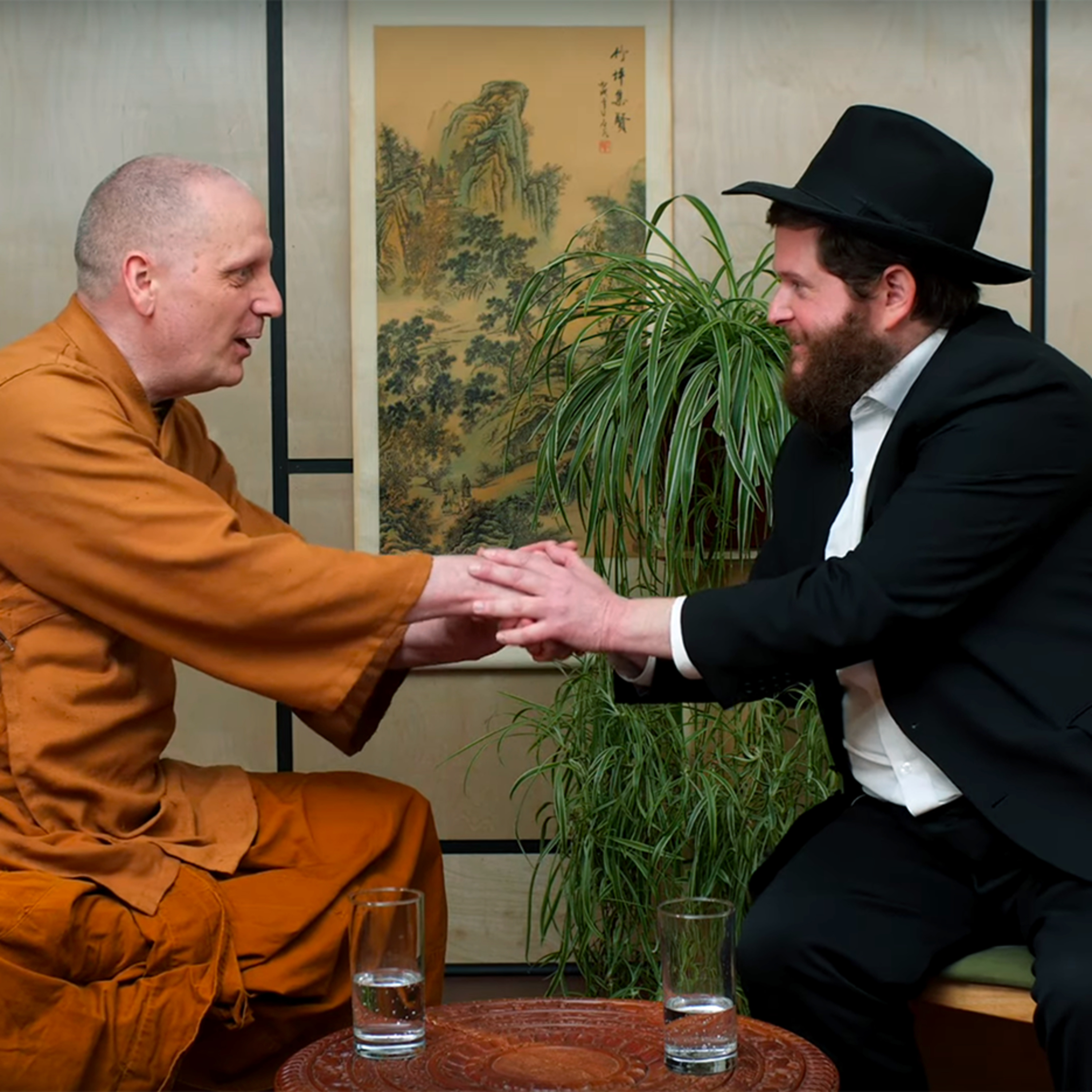 The Rabbi and the Buddhist Monk