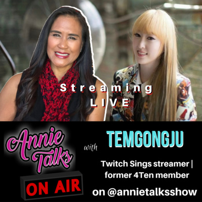 Episode 86 - Annie Talks with Twitch Sings streamer and