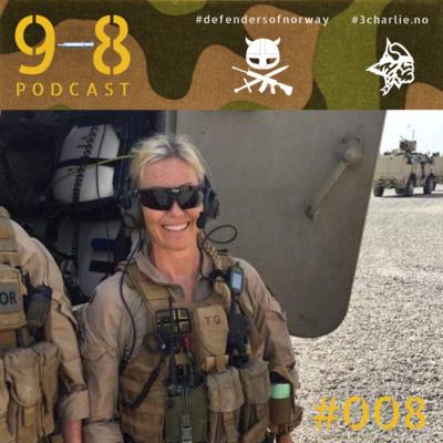 #008 Katrine | Befalsskole | Tren | Metallica | Afghanistan | Irak | Mali | Role-1 | IS