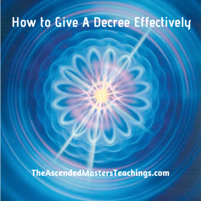 How to Effectively Give A Decree - Science of the Spoken Word