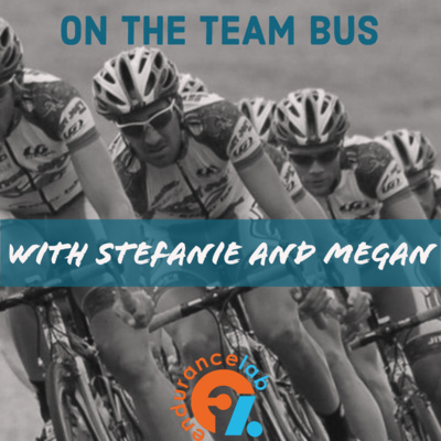 On the Team Bus - From Zwift to real-life with Stefanie and Megan