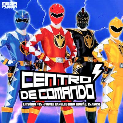 Centro De Comando 15 Power Rangers Dino Trovao 15 Anos By